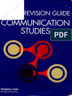 Collins CAPE Communication Studies Revision Guide