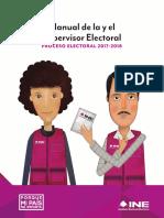 Manual de la y el Supervisor Electoral