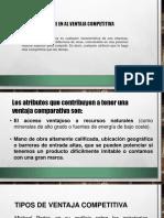 VARIABLES DE COMPETITIVIDAD