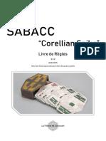 Sabacc Corellian Spike Livre de Règles 3.3.2