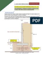 Dictámen de Muro de Contención EMPEDRADO CALVILLO KM 4+080