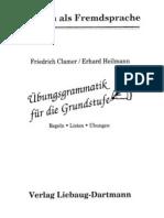 Uebungsgrammatik Fuer Die Grundstufe - Regeln-Listen-Uebungen