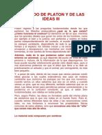 El Mundo de Platon y de Las Ideas III