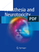 Anesthesia and Neurotoxicity (2017)