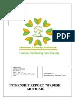 Keshav Internship Report NIRDESH
