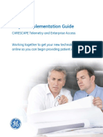 GEHC-Telemetry and Enterprise Access Project Implementation Guide PDF