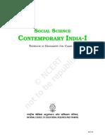Contemporary India IX