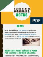 4.2 Actas (Instrumentos Jurídicos)