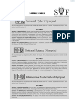 Olympiad Sample Papers