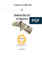 Banking Sector in Cambodia