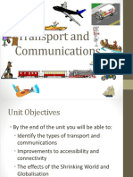 Unit8 Transport Andmcommunications