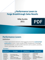 Aligning Sales Performance Levers-Mike Kunkle 10-2010 (old version)