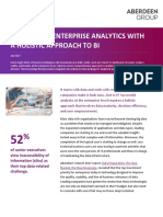 Winning at Enterprise Analytics With a Holistic Approach to BI