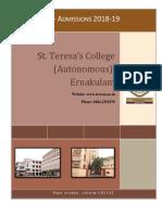 St Teresas College