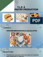 Lesson 2-Mensuration & Calculation