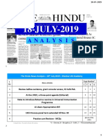 18-07-2019 - Print-Friendly Handwritten Notes - Shankar IAS Academy