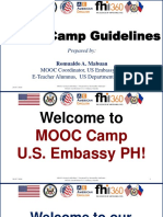 MOOC Camp Guidelines Updated 3 March 2019