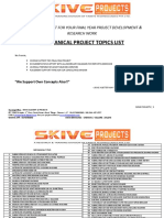 Mechanical Topics - Skive Projects