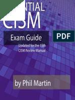 CISM Exam Guide