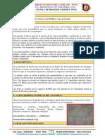 Proceso Constructivo - Enchapado de Jardinera   CONSTRUCCIONES II