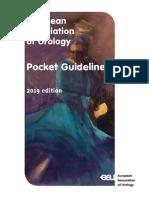 EAU Pocket Guidelines 2019