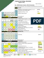 Academic Calendar Odd Sem ,2019-20 (Amended)