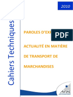 Cahier Technique Transport 2010