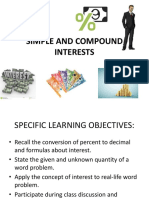 Simple and Compound Interests