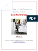 Oracle FLEXCUBE Universal Banking Primer_Core