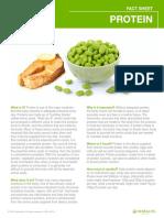 Protein Factsheet Usen