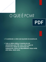 O QUE É PCM