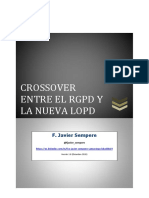 Crossover Entre El RGPD y La Nueva LOPD FJavierSempere
