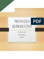 Protocolo Reproductivo