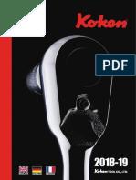 KOKEN catálogo 2018/2019