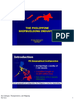 Daniel Reyes Philippines Shipbuilding Industry