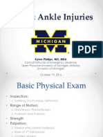Foot and Ankle Injuries Kylee Phillips_0.pptx