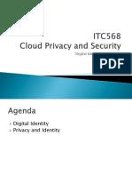 Digital Identity Privacy
