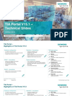 TIA Portal V15 1 Technical Slides En