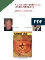 """381 Chiese Viva La """"Iglesia dedicada al Padre Pío. Templo Masónico.pdf"""