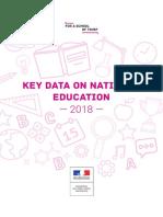 Key data on national education 2018