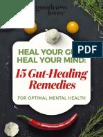 15 Gut Healing Remedies