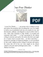 AMTCFO--A True Free Thinker by M.T. Cox-Flynn