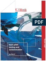 Section 4 - Basic Pilot Testing and Contamination