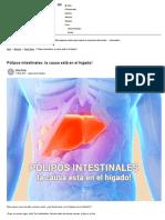 Pólipos Intestinales_ La Causa Está en El Hígado!