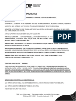 Sintep - Taller Irpf 2019 - Marco Teórico