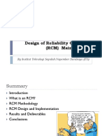 RCM Design and Implementation