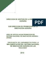 Lineamientos (Propuesta) Del Snia a Nivel de Regiones Trabajandose 29-08-18(1) (1)