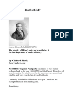 Was Hitler a Rothchild?