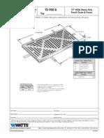 TD-900-B Specification Sheet