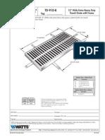 TD-910-B Specification Sheet